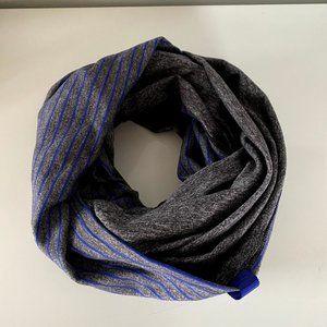 Blue & Grey Striped Lululemon Vinyasa Scarf